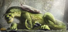 ArtStation - Pete's Dragon - Elliot, Jared Krichevsky