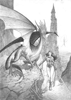 Alberto Varanda- Chevaliers Dragons