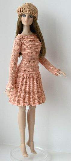 crocheted barbie doll clothes DIY How to Make Doll Joggers Handmade Clothes Craft - 24 Unique Diy Barbie Clothes Ideas Barbie Clothes Patterns, Crochet Barbie Clothes, Clothing Patterns, Dress Patterns, Shirt Patterns, Doily Patterns, Coat Patterns, Sewing Patterns, Knitted Dolls