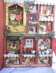 Graphic+45+Christmas+Emporium+Shadowbox - Scrapbook.com