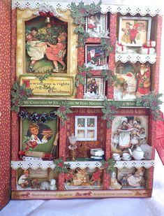 Graphic+45+Christmas+Emporium+Shadowbox - Scrapbook.com