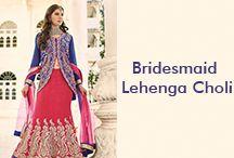 Bridesmaid Lehenga Choli