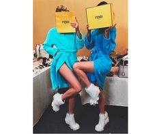 Kendall Jenner & Lily Donaldson Land Fendi Campaign