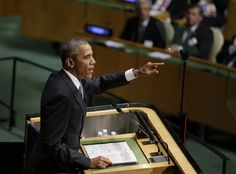 President Barack Obama told the UN General Assembly that Syrian President Bashar al-Assad cannot return to power.