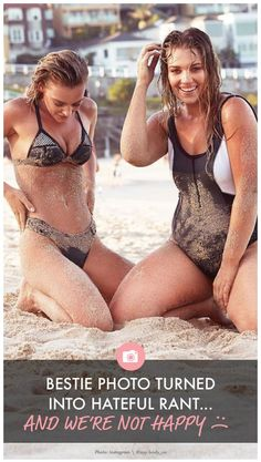 People are accusing these BFFs of something horrible after posting a candid photo at the beach.  Womanista.com