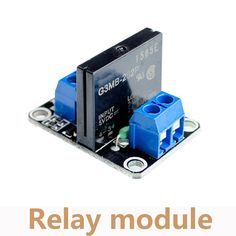 1 Channel 5V Solid State Relay Module Low Level Relay 240V 2A Output With Resistive Fuse RM001