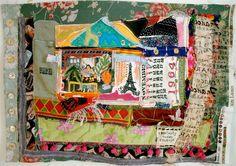 Henri MATISSE Home & Studio PARIS France Altered Fabric by mybonny