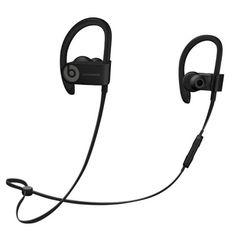 Beats By Dr. Dre Powerbeats3 Wireless Bluetooth In-Ear Stereo Headphones w/Inline Remote/Microphone & Case (Black)