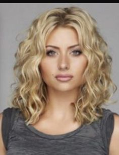 Loose Perms For Medium Hair Hairstyles For Shoulder Length Permed Hair Hair Styles And . Medium Hair Styles, Short Hair Styles, Natural Hair Styles, Med Curly Hair Styles, Style Curly Hair, Shoulder Length Hair, Sholder Length Hair Styles, Hair Lengths, Hair Trends