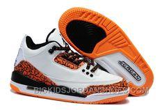 bc0cf1461e7 Kids Air Jordan III Sneakers 209 New
