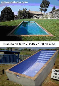 Piscina con suelo hormigon impreso piscinas pinterest - Precios de piscinas de hormigon ...