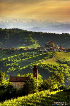 The land of wines - Serralunga d'Alba, Italy