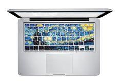 """Encontrar Más Fundas de Teclado Información acerca de Noche estrellada de Van Gogh para MacBook teclado Decal para MacBook piel del teclado etiqueta engomada del teclado para MacBook Pro 13 """" 15 """" 17 """", alta calidad pegatinas de venta al por menor, China adaptador de teclado Proveedores, barato teclado de Herngee-Life Companion en Aliexpress.com"""