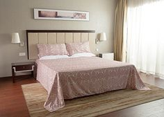 Lullabi Premium Collection 100% Ultra Soft, Double-side Brushed Finish, Microfiber Bed Sheets Set - Fitted, Flat sheet, Pillowcases, Wrinkle, Fade, Stain Resistant (PAISLEY, QUEEN) //http://bestadjustablebed.us/product/lullabi-premium-collection-100-ultra-soft-double-side-brushed-finish-microfiber-bed-sheets-set-fitted-flat-sheet-pillowcases-wrinkle-fade-stain-resistant-paisley-queen/