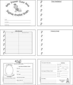 Baby Book Template Pages. roberta stamps baby book template ...