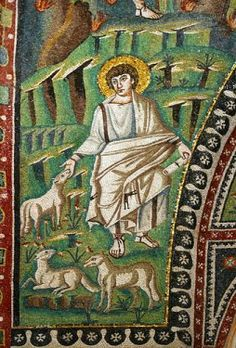 Moses Mosaic, San Vitale, Ravenna