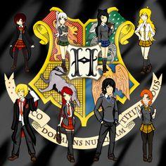 rwby hogwarts