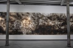Cai Guo-Qiang Chinese artiste Exhibition Fundacion Proa Buenos Aires