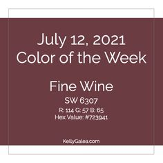 Your Color of the Week and energy reading for the week of July 12, 2021. Refine your vibrant life visions, connections and experiences.