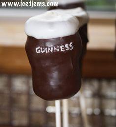 Guinness Cake Pops
