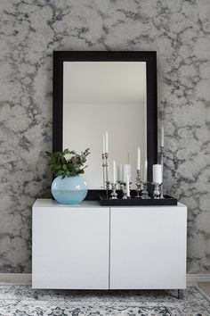 Decor, Framed Bathroom Mirror, Furniture, House, Frame, Home Decor, Mirror, White