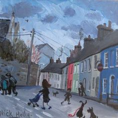 Church Street, Llandeilo by Nick Holly