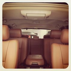 Loads of room inside the 2012 Toyota Sequoia Platinum Edition. All Sequoia's come standard with 3rd row seating.