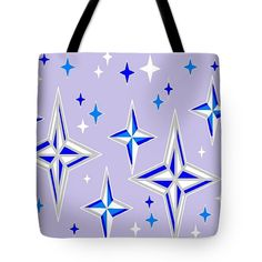 Tote Bag of 'Starlight 11' by Sumi e Master Linda Velasquez.