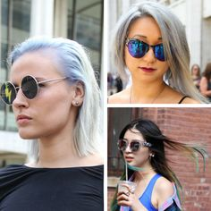 Get the look : Coloured hair summer beauty trend