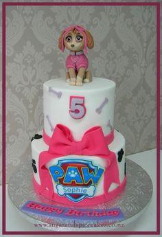 Torta de la Patrulla Canina. Perfecto para una celebración temática.#Pawpatrol #pastel