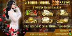 Indkasino Agen Casino Online Terpercaya Kecanggihan dunia teknologi yang mulai dirasakan manfaatnya oleh masyarakat khususnya pengguna jaringan internet menemukan cara baru dalam bermain judi yang …