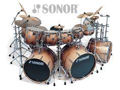 Bateröz: Sonor Drums 1