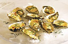 Oyster dinner/appetizer (Fast Easy Recipies)