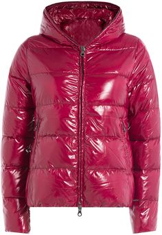 Duvetica Thiacinque Shiny Nylon Down Jacket, Ruby Women's Puffer, Down Puffer Coat, Down Coat, Purple Jacket, Moncler, Hooded Jacket, Winter Jackets, Just For You, Mens Fashion