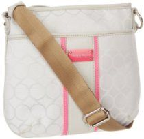 Nine West On Cloud 9 Cross Body,Black/Ivory,One Size