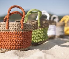 Strandtas haken voor beginners
