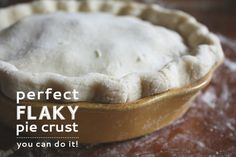 This post has been a long time coming. I love baking pies, in fact they are probably one of my most favorite things to bake. But I know plenty of you are intimidated by pies, more specifically, pie crusts. I'm here with a detailed tutorial to hopefully give you a little more confidence with your