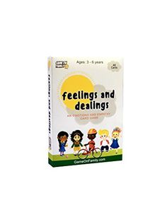 Feelings and Dealings: an Emotions and Empathy Card Game. Card game for kids Travel games Elementary School Counseling, Elementary Schools, Social Emotional Learning, Social Skills, Kids Travel Games, Empathy Cards, Card Games For Kids, Therapy Games, Learning Games