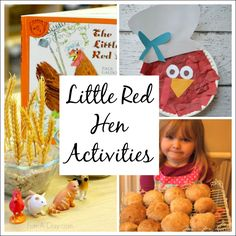 Little Red Hen Activities for Kids
