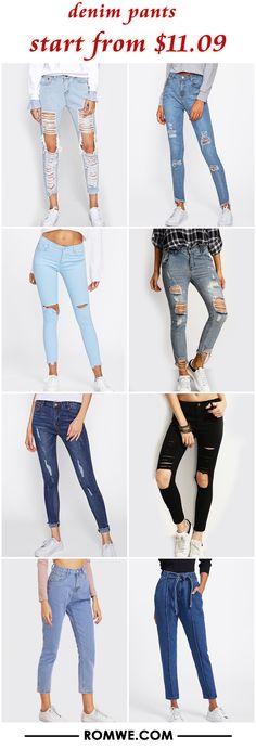 denim pants from $11.09