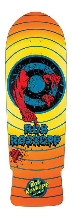 Skate model Roskopp Target 2 Reissue of the Cruz brand. Different colors. Skateboard Decks, Hard Rock, Different Colors, Target, Skating, Type 1, Construction, Technology, American