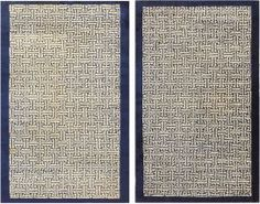 Antique Chinese Rugs 48181 and 48182 Main Image - By Nazmiyal