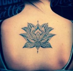 43 Attractive Lotus Flower Tattoo Designs