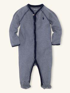 4604616b3b0d Striped Coverall - One-Pieces Layette Boy (Newborn–9M) - RalphLauren.