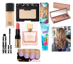 """""""Untitled #1209"""" by sweet-brownsuga ❤ liked on Polyvore featuring beauty, MAC Cosmetics, NARS Cosmetics, Hoola, Urban Decay, Givenchy, Bobbi Brown Cosmetics, Kate Spade and MANGO"""