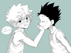 Imágenes Y Memes (Killugon/Gonkillu) Hisoka, Gon Killua, Hunter X Hunter, Hunter Anime, Anime Manga, Anime Guys, Wattpad, Ship Art, My Hero Academia Manga