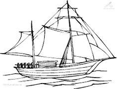 Motorboot malvorlage  malvorlagen Segelboot oder Segelschiff ausmalbilder | Visualize ...