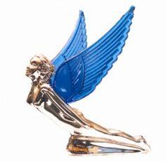 custom hood ornament with wings. Custom Hood Ornaments, Car Hood Ornaments, Car Bonnet, Car Station, Car Badges, Love Car, Car Ford, Retro Cars, Hot Cars