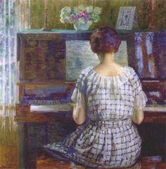 Diptyque's Crossing....: Louis Ritman et l'impressionisme américain