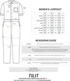size chart and guide | Wenaas Workwear AS
